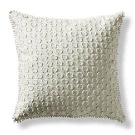 Rossi Dotted Swiss Decorative Pillow