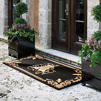 Montague Monogrammed Door Mat