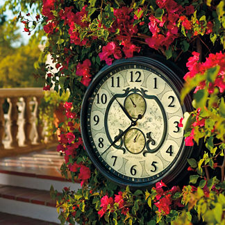 Lavina Outdoor Clock