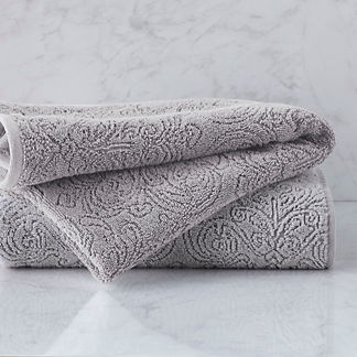 Alessandra Tonal Sculpted Bath Towel