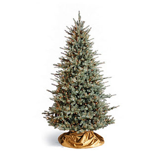 Colorado Blue Spruce Artificial Pre-lit Christmas Tree
