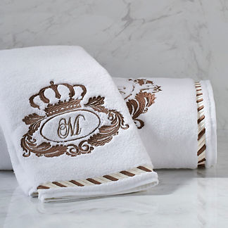 Noble Crown Bath Towel