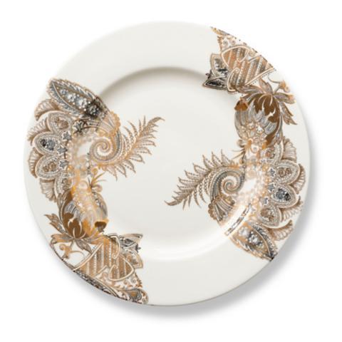 Caskata Bohemian Paisley Rimmed Dinner Plate  sc 1 st  Frontgate & Caskata Bohemian Paisley Dinnerware   Frontgate