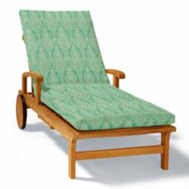 Knife-Edge Outdoor Chaise Cushion - Limited Quantities