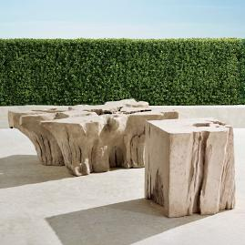 Root Tables in Stone Finish