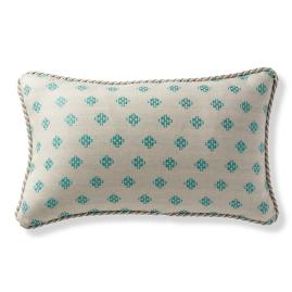 Evans Persian Outdoor Lumbar Pillow
