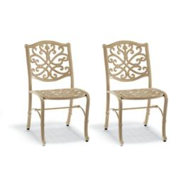 Set of Two Orleans Bistro Chairs in Biscayne