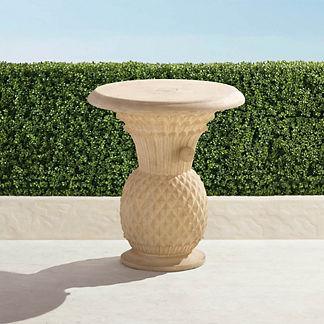 Stonecast Pineapple Umbrella Table