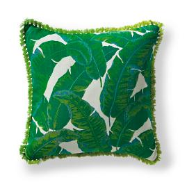 Amazon Emerald Outdoor Pillow