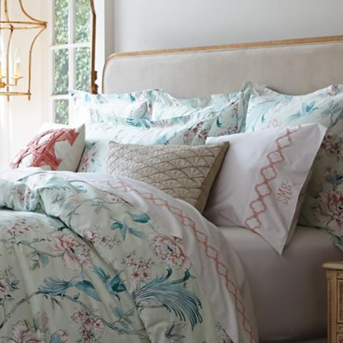Margeaux Chinoiserie Bedding Frontgate