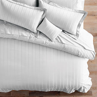 Variegated Stripe Duvet Cover