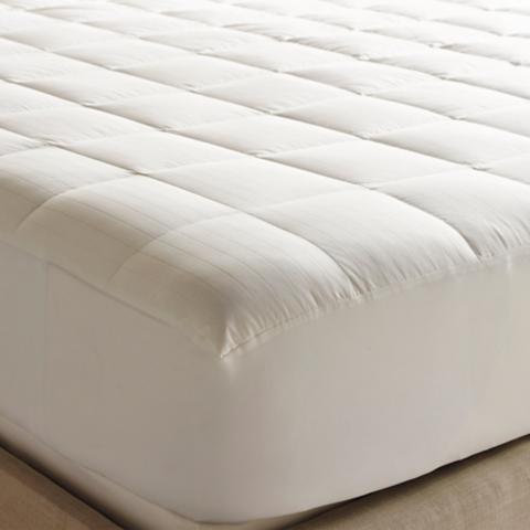 luxury down mattress pad