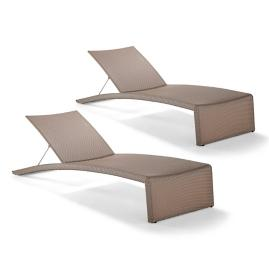 Airwin Chaises by Porta Forma, Set of Two