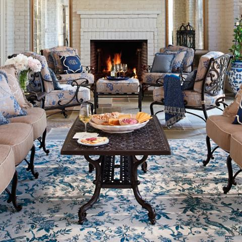 Chinoiserie Outdoor Rug