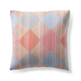 Accordion Ombre Dawn Modern Boxed Square Pillow