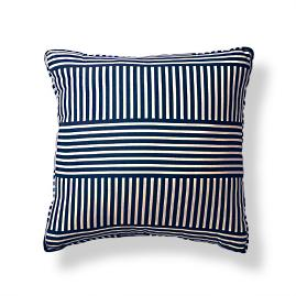 Basket Modern Boxed Indoor/Outdoor Pillow - Cobalt