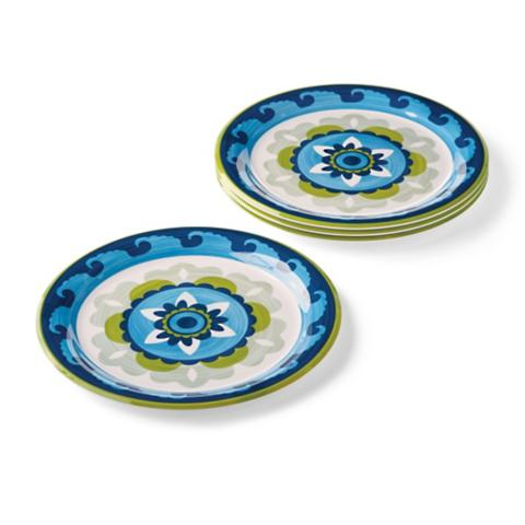 Geo Suzani Melamine Dinner Plates Set of Four  sc 1 st  Frontgate & Vibrant Mix-and-Match Melamine Dinnerware | Frontgate