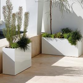 Quentin Rectangular Planter by Porta Forma