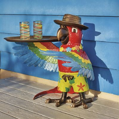 Margaritaville Petey The Parrot Party Table Frontgate