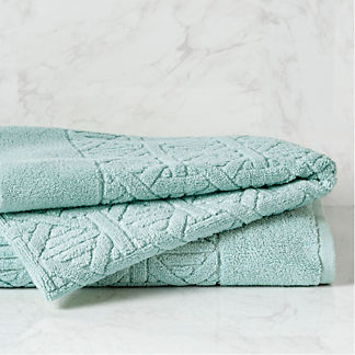 Paradiso Caning Bath Towel with 3-letter Monogram