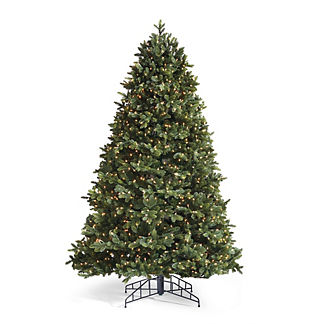 Noble Artificial Pre-lit Christmas Tree