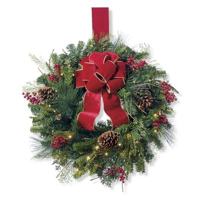 christmas garland ideas cheer window wreath frontgate 11570