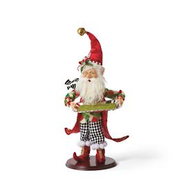 Mark Roberts Party Butler Elf with White Diamond