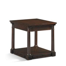 Monroe Side Table in Antique Black