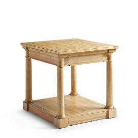 Monroe Side Table in Elm Grey