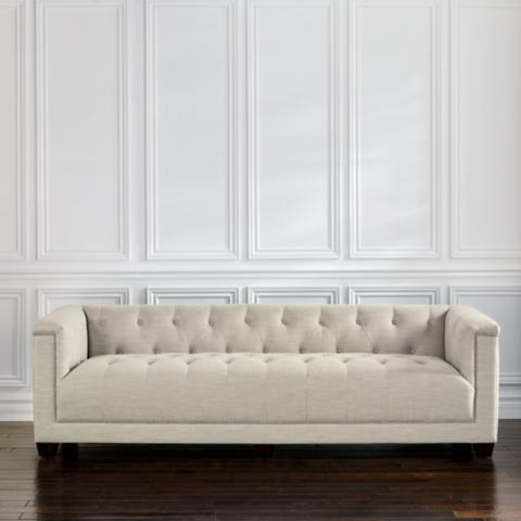 Preston Linen Sofa
