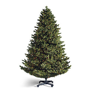 Grand Balsam Inversion Artificial Pre-lit Christmas Tree