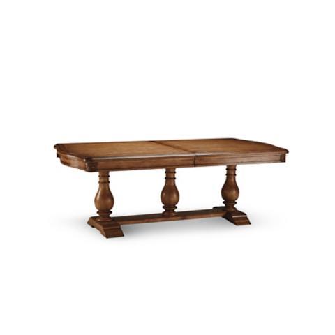 tennyson trestle table | frontgate