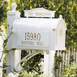 Capitol Monogrammed Mailbox
