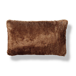 Luxury Faux Fur Lumbar Pillow