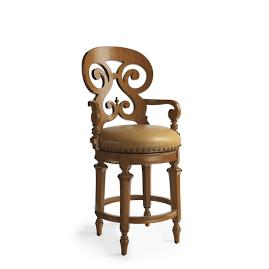 "Brianna Swivel Counter Stool (26""H seat)"
