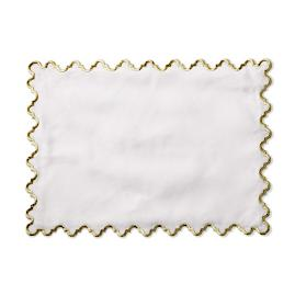 Donatella Embroidered Placemats, Set of Four