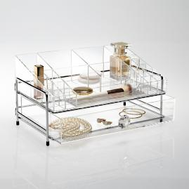 Luciana Customizable 1-Drawer Acrylic Organizer
