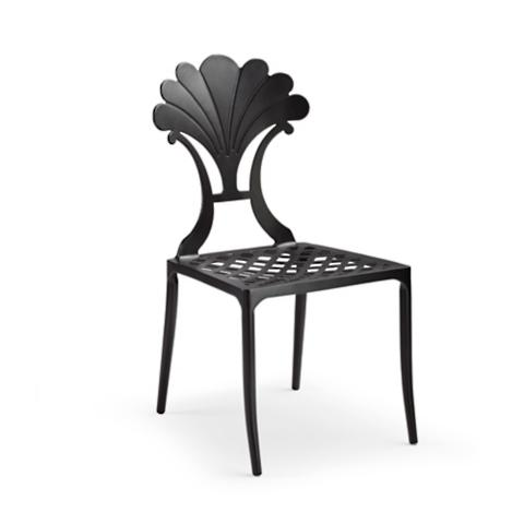 Shell Aluminum Dining Chairs, Set Of Two