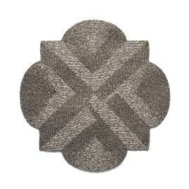 Donatella Quatrefoil Beaded Placemats, Set of Four