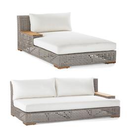 Palisades 2-pc. Left-facing Modular Chaise Set