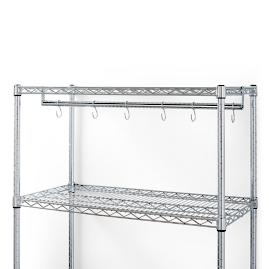 Hooks for Standard-size Chrome Shelving