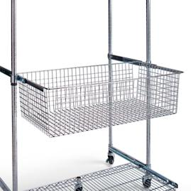 Chrome Shelving Pull Out Sliding Basket