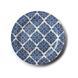 Reactive Blue Serving Platter