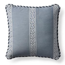 Atlas Indigo Outdoor Pillow