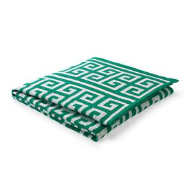 Greek Key Indoor/Outdoor Throw