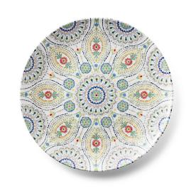 Kavala Dinner Plates, Set of Four