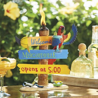 Welcome To Margaritaville Tabletop Torch Frontgate