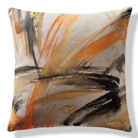 Expressionist Stone Outdoor Pillow