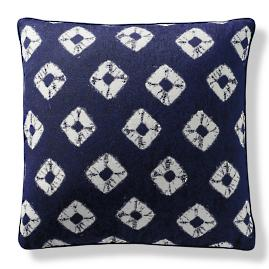 Kato Indigo Outdoor Pillow by Porta Forma