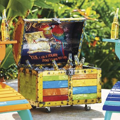 Margaritaville Treasure Chest Beverage Tub Frontgate